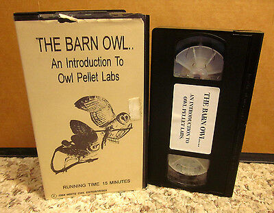 Owl Pellet Lab (BARN OWL documentary Introduction to Pellet Labs VHS lifecycle & habits)