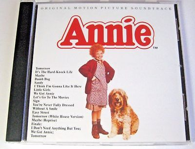 Annie ~ Original Soundtrack ~ NEW CD ALBUM  ~ tomorrow ~ It