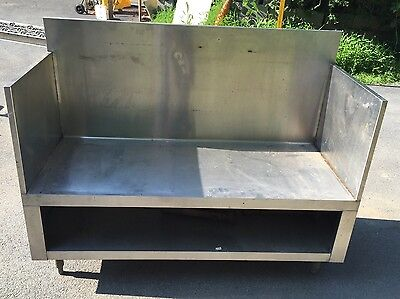 Commercial Stainless Steel Equipment Stand 54 X 22 Grill Griddle Stand