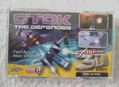 31972 GTOK THE DEFENDER MINI CD ROM 3D GLASSES INCLUDED PC WINDOWS XP