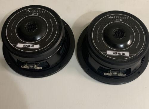 2 Eminence Alpha-6A Speaker 8 Ohm 200 Watts 6  - $145.99