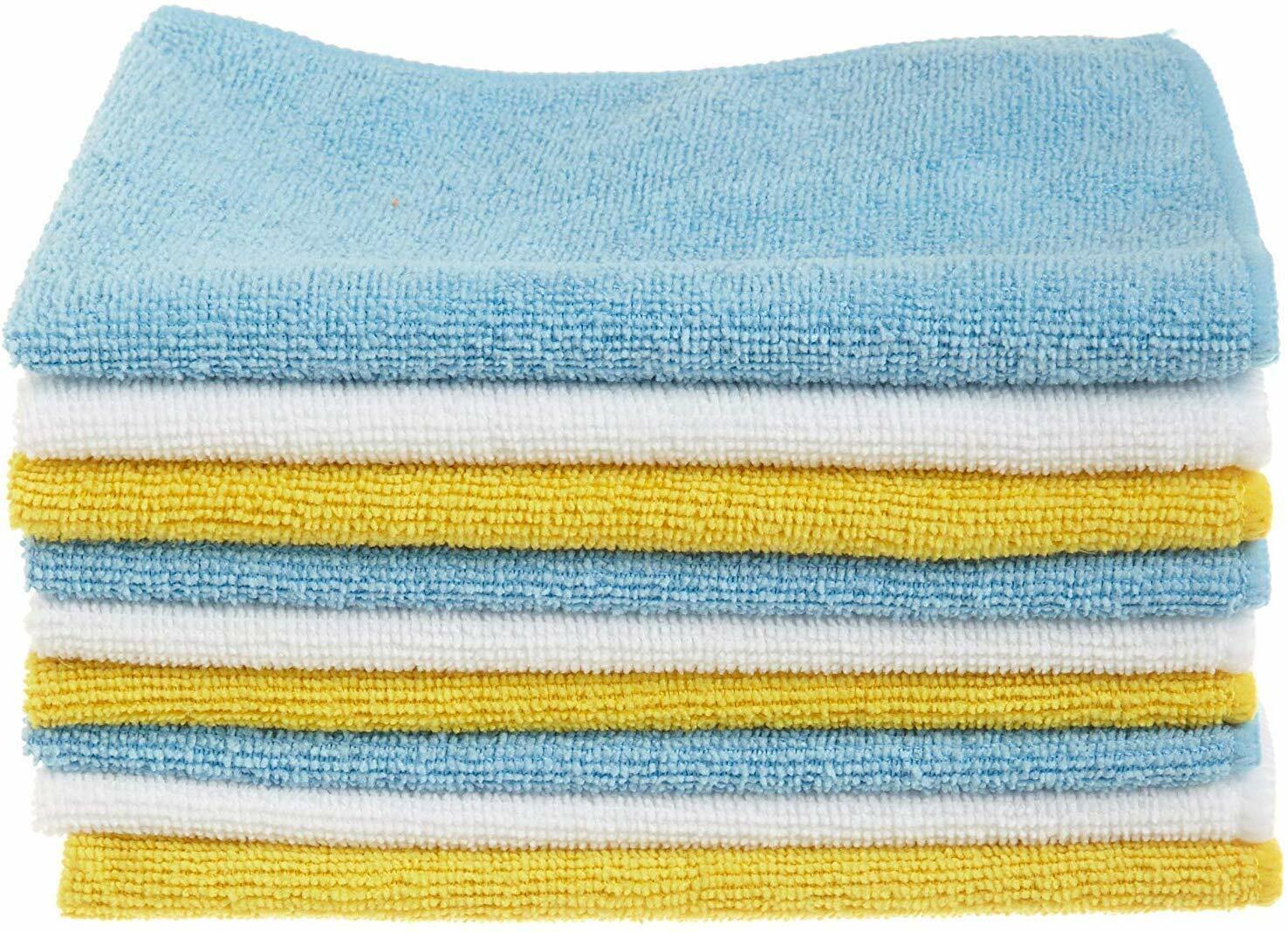 AmazonBasics Microfiber Cleaning Cloth - 24-Pack