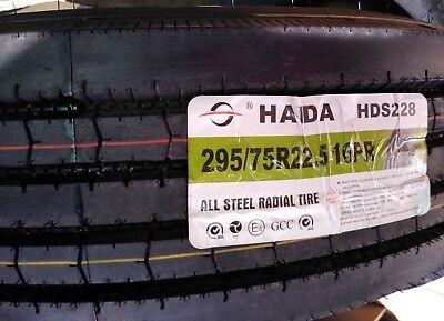 HAIDA  29575R225  16PR  STEER TIRE ALL POSITIONCOMMERCIAL TRUCK TIRE