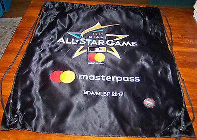 - MLB ALL-STAR GAME FANFEST 2017 MASTERCARD MASTERPASS DRAWSTRING BAG / BACKPACK