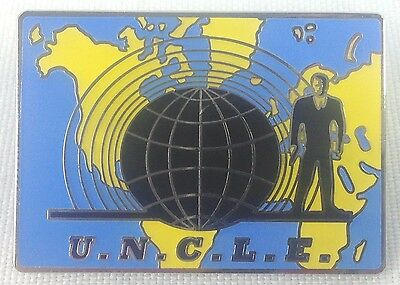 Man From Uncle   U N C L E  1960S Television Spy Series   Enamel Pin