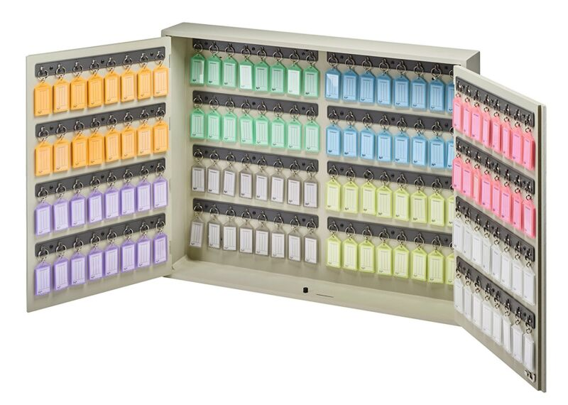 Acrimet Key Cabinet (128 Positions) with 128 Key Tags