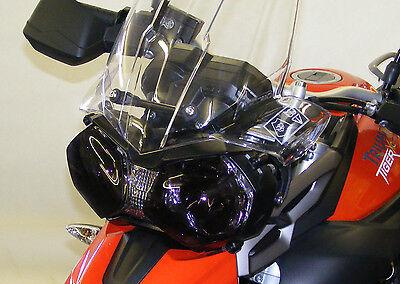 TRIUMPH TIGER 800/XC 11-16/TIGER 1200 EXPLORER 12-16 HEADLIGHT COVER DARK TINT