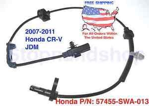 New ABS Wheel Speed Sensor fits 07-11 Honda CR-V CRV JDM Front Driver Left