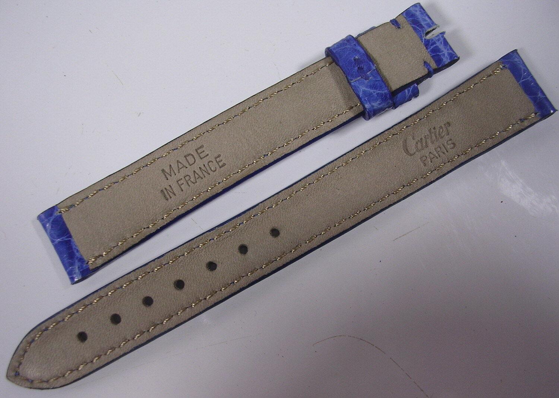 Bracelet cuir cartier pour montre 13,2 mm stock ancien