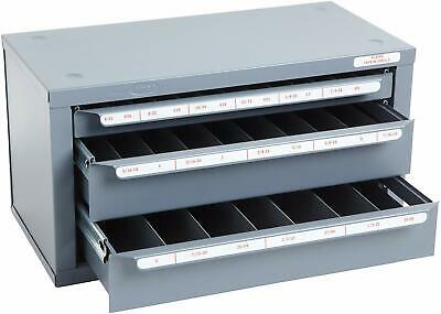 Huot 13590 Three-drawer Tap And Drill Bit Dispenser Cabinet