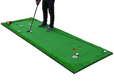3.3'X10' Indoor/outdoor Practice Golf Putting Green Training Mat Aids Equipment