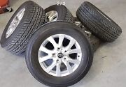 Toyota LandCruiser Wheels and Tyres x5 Dayboro Pine Rivers Area Preview