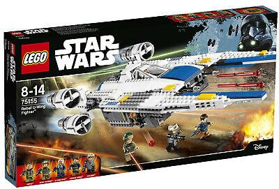 Lego Star Wars 75155 Vessel Rebel u Wing Fighter New Sw Jyn Erso Pilot