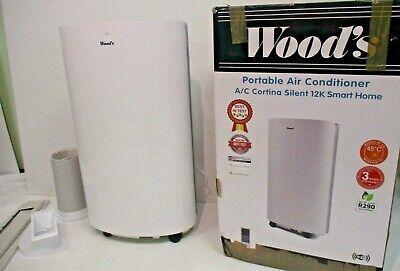 WOODS Portable Air Condition AC Cortina Silent 12K Smart Home White BNIB....