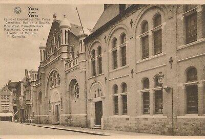 CPA - Belgique - Ieper - Ypres - Eglise et Couvent