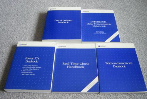 National Data Books - 1992-94 Data Acquisition, Interface, Clock, Power, Telcom