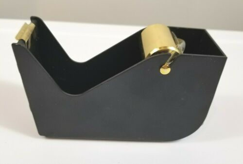 Hearth & Hand™ with Magnolia - Cast Metal Tape Dispensers Black & Gold NEW