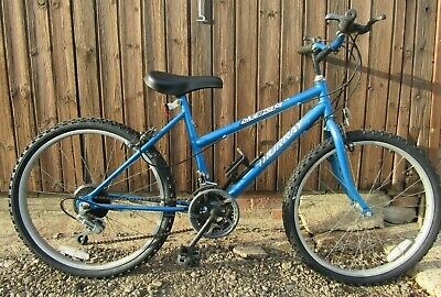 Murray Blue Baja Rigid Frame Mountain Bike Bicycle Girls 15 Gear Brand New Tyres