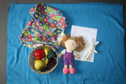 """Teacher Resource: Story Drama Props """"Mr Rabbit & Lovely Present"""" Albany Creek Brisbane North East Preview"""