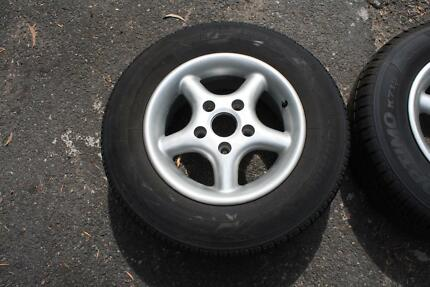 Alloy Wheels Suit VB Commodore VG Condition