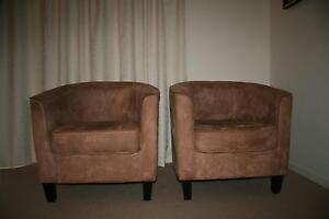 Pair of tub chairs. Greenwich Lane Cove Area Preview