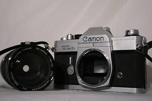 c1974 Canon TLB SLR Film Camera - Made In Japan Ingleburn Campbelltown Area Preview
