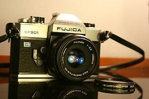 c1974 RARE Fujica ST901 Electro Film Camera + 55mm Fuji Lens Ingleburn Campbelltown Area Preview