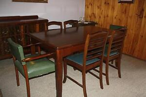 Vintage dining setting and buffet Wallington Outer Geelong Preview