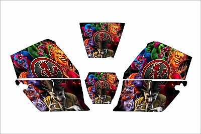 Jackson Wh60 Hsl100 Wf60 W30 40 0744 Nexgen Welding Helmet Decal Insane Clown