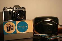 Praktica Nova SLR Film Camera + Case + Box Ingleburn Campbelltown Area Preview