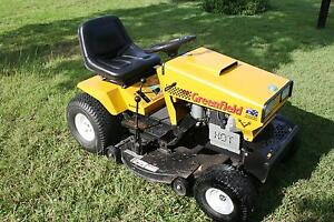 GREENFIELD 34 RIDE ON LAWN MOWER AND TRAILER Wingham Greater Taree Area Preview