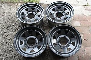 4 Steel Wheel Rims Korumburra South Gippsland Preview