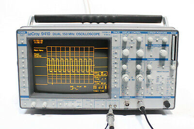 Lecroy 9410 Dual Dhannel 150mhz 100mss 4gss Oscilloscope