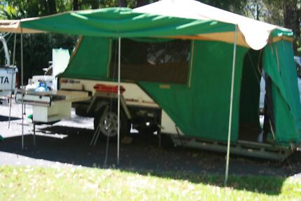 CAMPER TRAILER HIRE FROM $40,00 A DAY