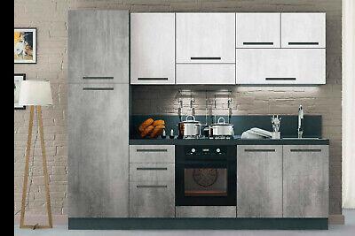 Respekta Cucina Angolo Cucina Blocco Cucina Landhauskuche Cucina Incasso Cucina Completa 250 Cm Bianco Arredamento Cucina