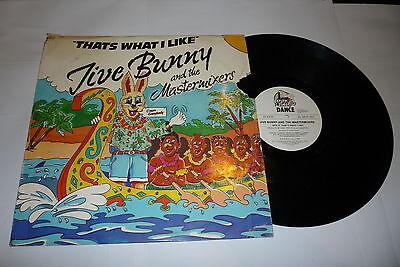 """JIVE BUNNY & THE MASTERMIXERS - Thats What I Like - 12"""" Vinyl Single"""