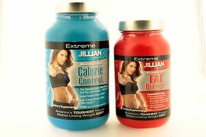 Jillian Michaels Fat Burner 120 Caps & Calorie Control 180 Caps Combo Pack
