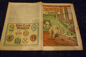 ROVER-ADVENTURE-1963-Date-01-06-1963-UK-Paper-Comic