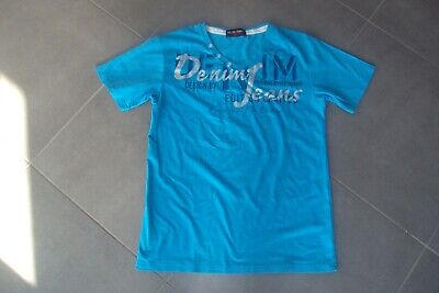 T-SHIRT/BLOUSE/POLO - t-shirt bleu BLUE BERRY T L -> M - bon état