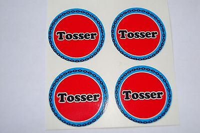 """12  Tosser CROWN GREEN STICKERS  1""""   LAWN BOWLS FLATGREEN  AND INDOOR BOWLS"""