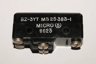 Honeywell Micro Switch Snap Action Limit Switch Bz 3yt