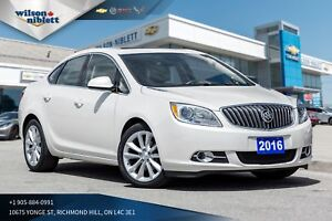 2016 Buick Verano 1 OWNER, ACCIDENT FREE