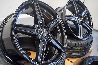 19 Zoll UA7 Alu Felgen für Mercedes A CLA C E Klasse A45 AMG W204 W212 W176 207  gebraucht kaufen  Hagen