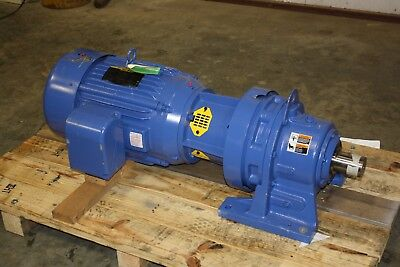 New Sumitomo Gear Reducer 81 Ratio With Baldor 30 Hp Motor