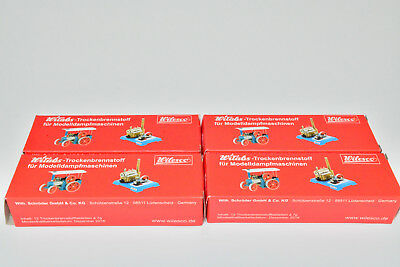(1Kg=38,54€) Wilesco 4 Packungen Esbit Witabs Brennstoff Packung NEU in OVP Z81