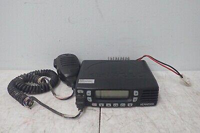 Kenwood Tk-7360h-k Vhf Fm Mobile Two-way Transceiver Radio W Microphone Kmc-35