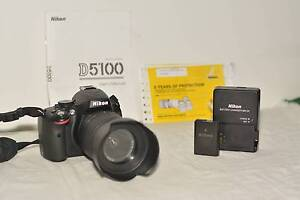 Nikon D5100 DSLR  with 18-55mm lens Carina Heights Brisbane South East Preview