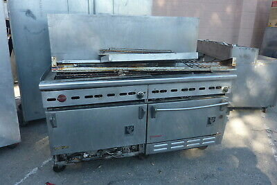 Wolf Double Convection Ovens And 10 Burners Stovecompletess900 More Items