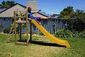 Slide with wooden stand Beaconsfield Fremantle Area Preview