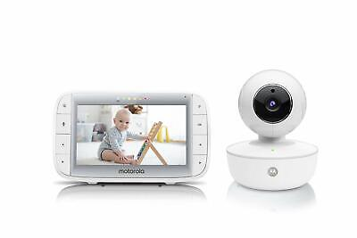 "Motorola Video Baby Monitor 5"" Color Parent Unit Remote Pan/Tilt/Zoom Porta..."